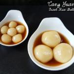 Tangyuan – Sweet Glutinous Rice flour balls with Sesame filling