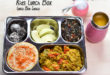 Indian Vegetarian Kids Lunch Box || Bento Lunch